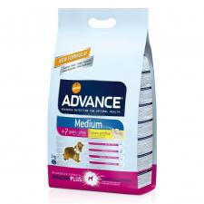 Advance 7+ Medium Senior with Chicken and Rice - ėdalas vyresniems šunims