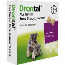 Drontal® dog flavour - tabletės šunims N6