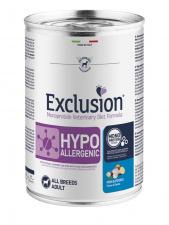 Exclusion® HYPOALLERGENIC su žuvimi ir bulvėmis