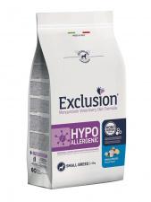 Exclusion® HYPOALLERGENIC small breed su žuvimi ir bulvėmis