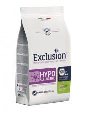 Exclusion® HYPOALLERGENIC small breed su vabzdžiais ir žirniais