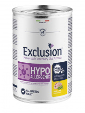 Exclusion® HYPOALLERGENIC su putpeliena ir žirniais