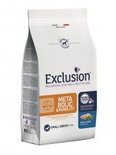 Exclusion® METABOLIC & MOBILITY small breed su kiauliena ir ląsteliena.