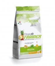 TRAINER Fitness 3 ADULT Medium Maxi VEGETAL - augalinis ėdalas šunims