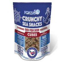 FORZA10 RED SKIN FISH CUBES skanėstai šunims
