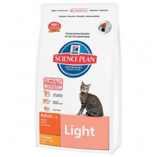 Hill's™ Science Plan™ Feline Adult Light - ėdalas katėms su vištiena