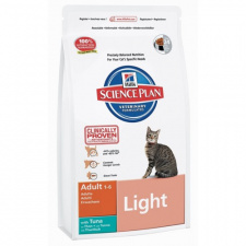 Hill's™ Science Plan™ Feline Adult Light - ėdalas katėms su tunų