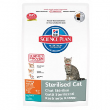 Hill's™ Science Plan™ Sterilised Cat Young Adult - ėdalas katėms su tunų