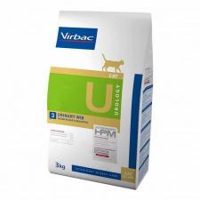 Virbac U3 URINARY WIB - ėdalas katėms pakartotinam struvitų ir oksalatų formavimuisi slopinti