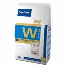 Virbac W1 WEIGHT LOSS & DIABETES - ėdalas katėms esant nutukimui, diabetui