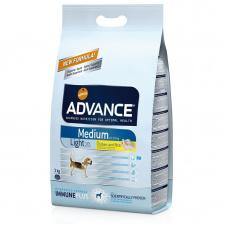 Advance Medium Light Adult - vidutinių veislių šunims turintiems viršsvorio
