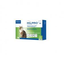 MILPRO® 16mg/40mg plėvele dengtos tabletės katėms N2 (2 tabletės)