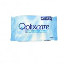 Optixcare® - paakių dėmių valymo servetėlės