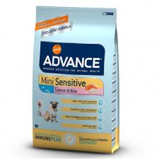 Advance Sensitive Mini with Salmon and Rice - ėdalas šunims netoleruojantiems mėsos baltymų