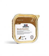 SPECIFIC™ Struvite Dissolution FSW 7x100g - konservuotas ėdalas katėms, padedantis ištirpdyti struvitų akmenis