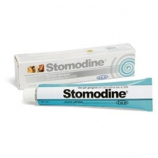 Stomodine® - antiseptinis snukio ertmės tepalas