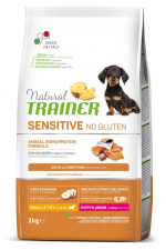 TRAINER Sensitive PUPPY JUNIOR MINI - ėdalas šuniukams su lašiša
