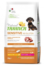 TRAINER Sensitive PUPPY JUNIOR MINI - ėdalas šuniukams su antiena
