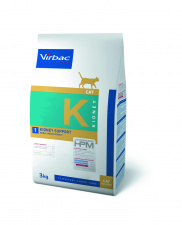 Virbac K1 KIDNEY SUPPORT - ėdalas katėms esant inkstų nepakankamumui