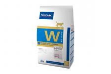 Virbac W2 WEIGHT LOSS & CONTROL - ėdalas tinkamam svoriui palaikyti bei diabetu sergančioms katėms