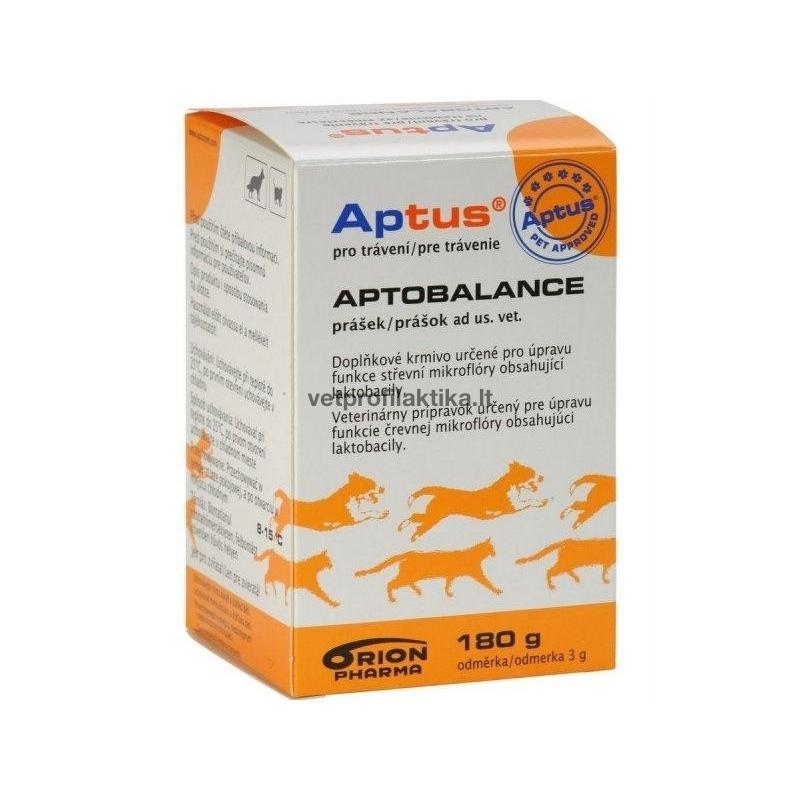 APTOBALANCE - papildas virškinamojo trakto mikroflorai subalansuoti