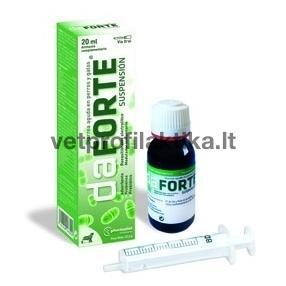 daFORTE® - papildas esant ūmiam įvairios kilmės viduriavimui