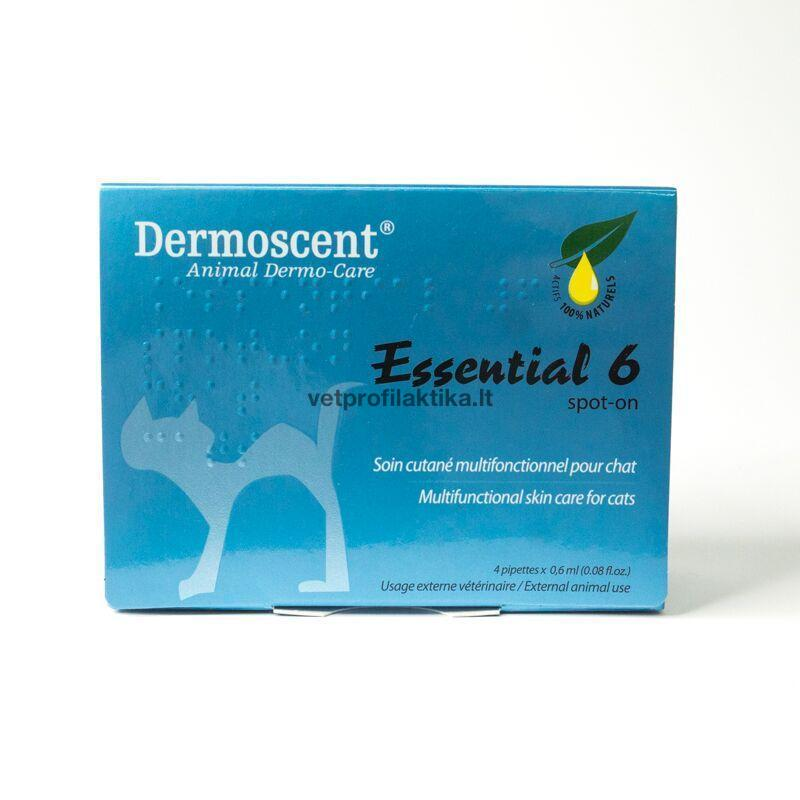 Dermoscent® Essential 6 - užlašinamasis tirpalas katėms