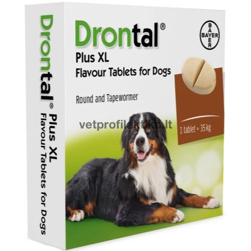 Drontal® plus flavour 35kg - tabletės šunims N2
