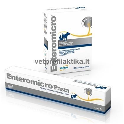 Enteromicro® -  papildas esant ūmiam ir lėtiniam įvairios kilmės viduriavimui