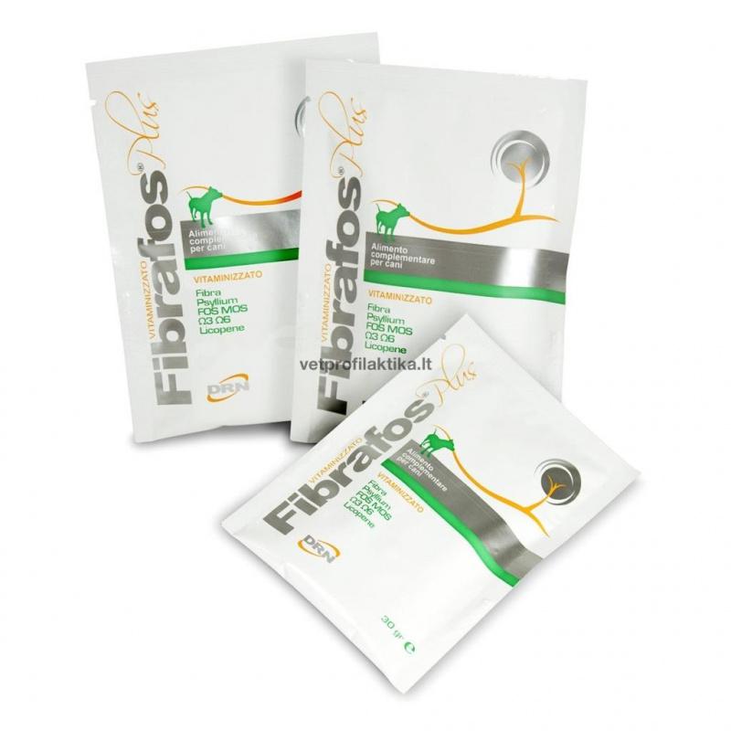 Fibrafos® PLUS - papildas padedantis normalizuoti žarnyno turinio konsistenciją