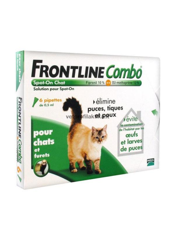 FRONTLINE® COMBO N3 - užlašinamasis tirpalas katėms ir šeškams