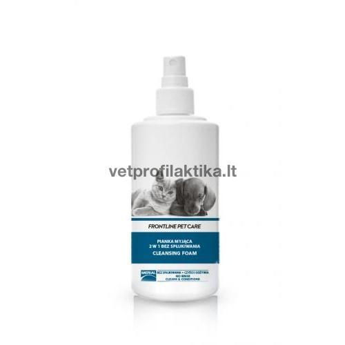 FRONTLINE PET CARE - valomosios putos - sausasis šampūnas 2in1
