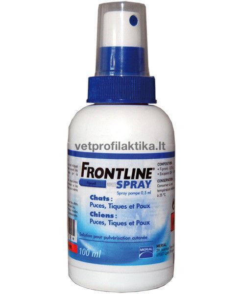 FRONTLINE® SPRAY -  odos purškalas šunims ir katėms