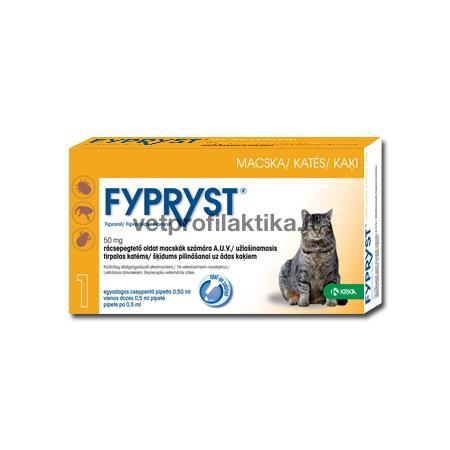 FYPRYST - užlašinamasis tirpalas katėms