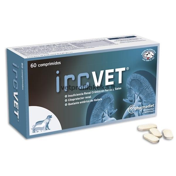 ircVET® - papildas lėtiniam inkstų nepakankamumui palengvinti