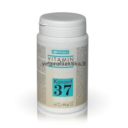 Kanavit 37 - papildas sveikai organizmo būklei palaikyti