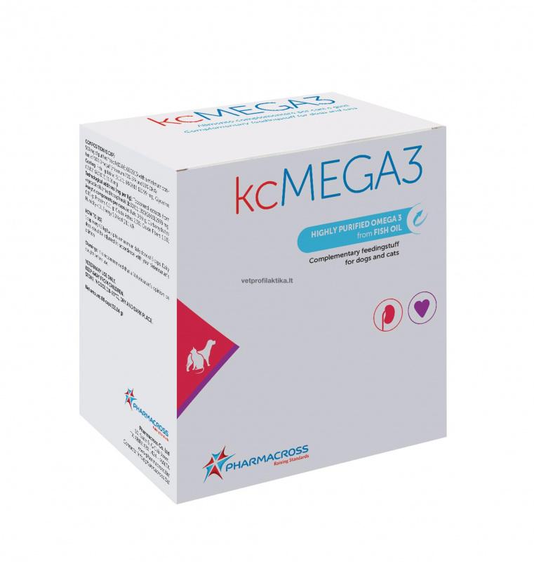 kcMEGA3 - širdies ir inkstų veiklai palaikyti