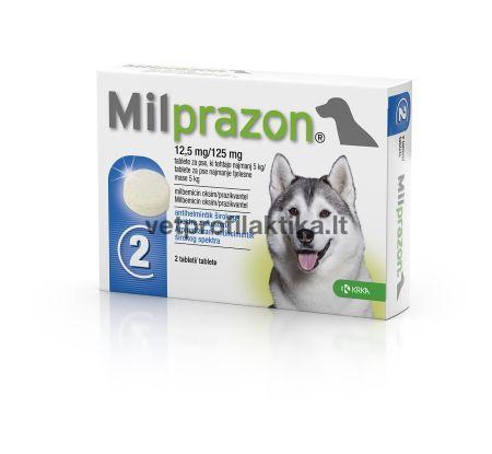 Milprazon® 12,5mg/125mg - tabletės šunims N4