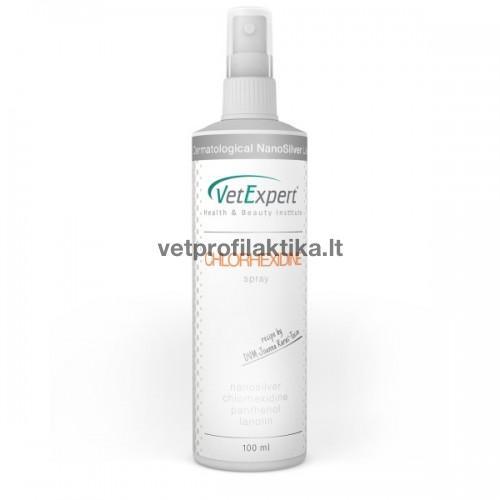 Clorhexidine spray - antiseptinis purškalas esant odos pažeidimams