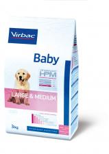 Virbac Baby LARGE & MEDIUM - ėdalas didelių veislių šuniukams