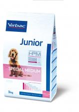 Virbac Junior SPECIAL MEDIUM - ėdalas 7 iki 12 mėnesių šuniukams