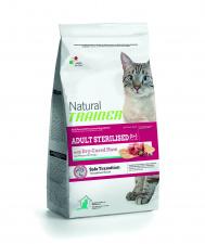 TRAINER NATURAL sterilised cat su vytintu kumpiu