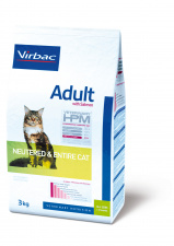 Virbac Adult with salmon NEUTERED & ENTIRE CAT - ėdalas sterilizuotoms/nesterilizuotoms katėms