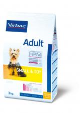 Virbac Adult SMALL & TOY - ėdalas suaugusiems šunims