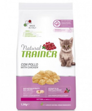 TRAINER NATURAL kitten su vištiena
