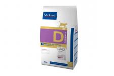 Virbac D1 DERMATOLOGY SUPPORT - ėdalas katėms esant dermatozėms ir per dideliam kailio slinkimui