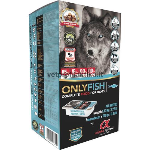 Alpha Spirit Only Fish complete - ėdalas šunims