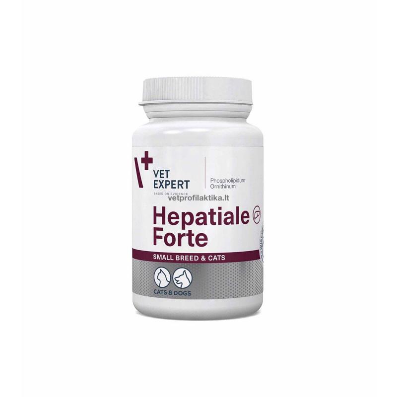 Hepatiale®Forte small breed & cats - papildas kepenų funkcijai gerinti