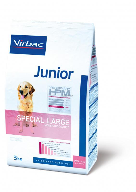 Virbac Junior SPECIAL LARGE - ėdalas didelių veislių šuniukams