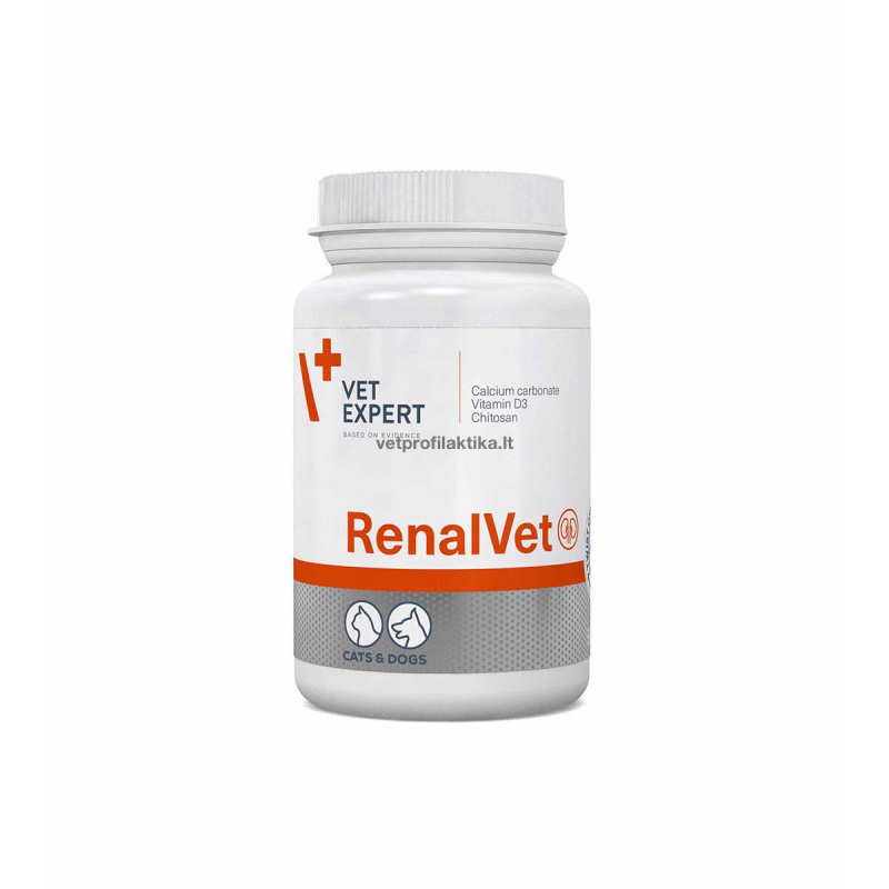 RenalVet - papildas esant lėtiniam inkstų nepakankamumui